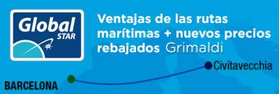 Ventajas de las rutas marítimas y nuevos precios rebajados de Grimaldi
