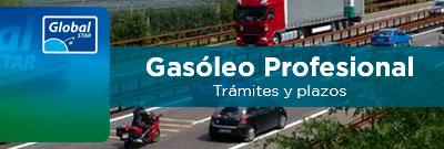 Gasóleo Profesional, trámites y plazos