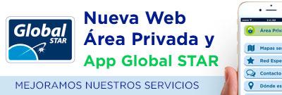 Nueva web Área Privada y App Global STAR