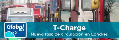 T-Charge, nueva tasa para circular por el centro de Londres
