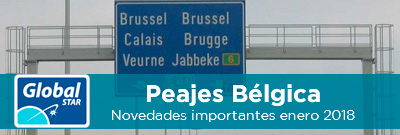 Novedades en Peajes Bélgica