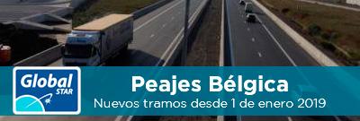 Nuevos tramos de peaje en Bélgica