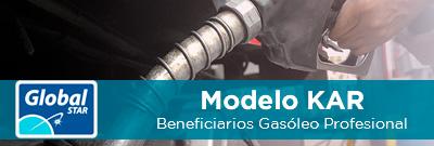 Presentación modelo KAR para beneficiarios de Gasóleo Profesional