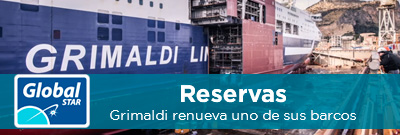 Reservas Global STAR: Novedades naviera Grimaldi