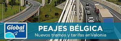 Nuevos tramos y tarifas en la región de Valonia, Bélgica