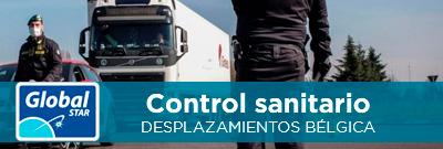 Control sanitario en Bélgica: Registro de conductores
